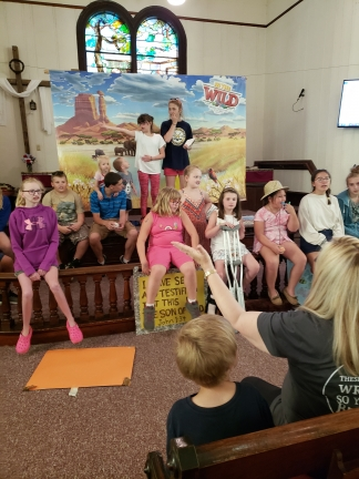 A glimpse at UNY Vacation Bible School July 2019